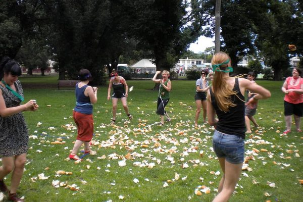 Femme Fight Club Bread Fight