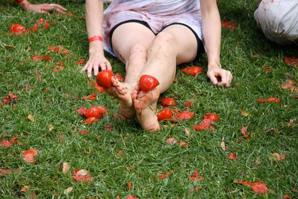 Femme Fight Club  Tomato Fight